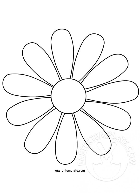 daisy-flower-template